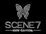scene 7 logo grey